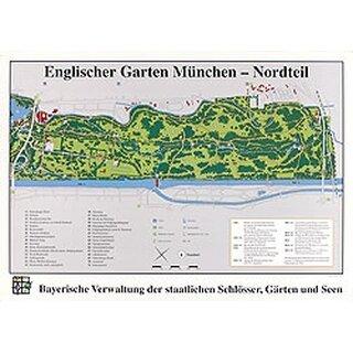 Poster Englischer Garten Munchen Nordseite 3 40