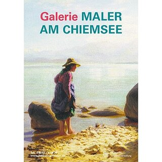 Plakat Galerie Maler am Chiemsee
