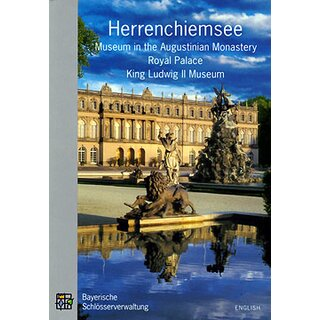 Official guide Herrenchiemsee (engl.)