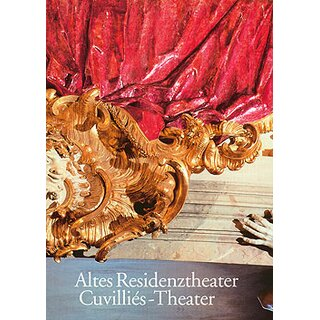 Coffee-table book The Altes Residenztheater, English edition